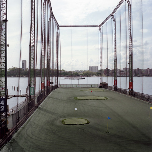 Chelsea Piers Golf Club. Chelsea Piers, NYC.
