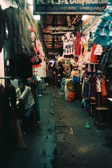 Market (Play Ouch) Tags: india 35mm canon iso 400 a1 fnac inde pondicherry pellicule pondichry puducherry prime