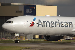 American Airlines Boeing 777-300 N720AN (LHR Local) Tags: london plane airplane flying airport heathrow aircraft aviation flight jet aeroplane american boeing americanairlines 777 lhr heathrowairport lineup flugzeuge planespotting boeing777 egll 777300 canon6d philbroad n720an