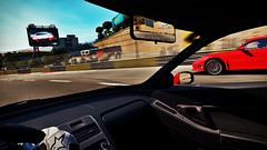 The Overtake! (Leang Sang) Tags: 2 cars speed for pc video shift games porsche need nsx nfs