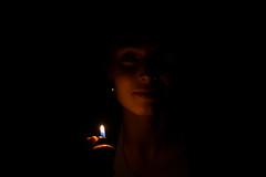 Cl. (Cromyz) Tags: light portrait face canon dark fire eos 50mm lumiere f18 matchstick briquet allumette 600d cromyz aadeeeilmnnoprrsy