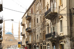 Beirut Streetlife (InArtsWeTrust) Tags: street lebanon architecture mosque beirut canon1755mm canon650d canont4i