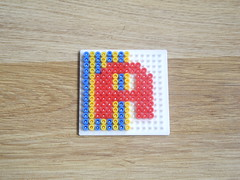 hellocatfood - A (hellocatfood) Tags: animation alphabet hamabeads hellocatfood