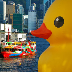 Yellow Fever (unlimited inspirations) Tags: blue windows red summer reflection green art tourism water smile yellow ferry mouth toy happy hongkong pier duck artwork eyes nikon asia colours symbol display harbour joy balloon wave sunny exhibition installation transportation figure colourful kowloon tsimshatsui victoriaharbour harbourcity florentijnhofman nikond80 unlimitedinspirations vigilantphotographersunite vpu2 vpu3 vpu4 vpu5 vpu6 vpu7 vpu8 vpu9 vpu10