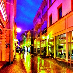 A little, but #colorful #street of #Eisenach. (Lars Gebauer) Tags: street colorful android eisenach streamzoo