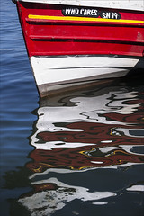 Who Cares (Mike Carter) Tags: reflection water boat nikon 70300 d600