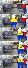 Personal Space! Personal Spaaaaaaaaaace! (sxairel) Tags: funny lol humor best jokes fail