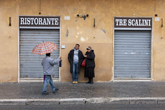 2013021200223 (robertsladeuk) Tags: city people italy woman man rome men tourism wet rain weather umbrella outside outdoors person restaurant daylight italian women europe european day exterior outdoor travellers tourist tourists traveller shutters shutter daytime visitors umbrellas raining visitor selling piazzanavona seller brolly salesman brollies wetweather zzzflickrmp robertmanorphotographycom