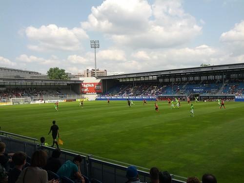 Testspiel Wehen-Wiesbaden - Waldhof Mannheim