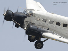ju52-crop-sun-1 (Stewart Taylor (SMT Photography)) Tags: yak heritage history photography flying photo unique aviation wwii flight airshow photographs duxford corsair mustang fighters wildcat shuttleworth bombers gladiator swordfish p51 storch luftwaffe iwm fleetairarm flyinglegends