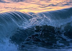 Infinite Jest (JKG II) Tags: ocean california venice sunset beach water losangeles amazing cool break pacific crash awesome wave crest fluid freeze frame nanosecond moment liquid sets trough wavelength precursor