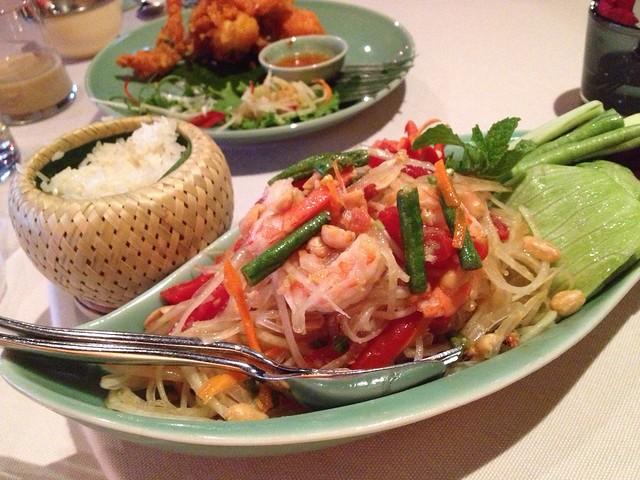 青木瓜蝦沙拉