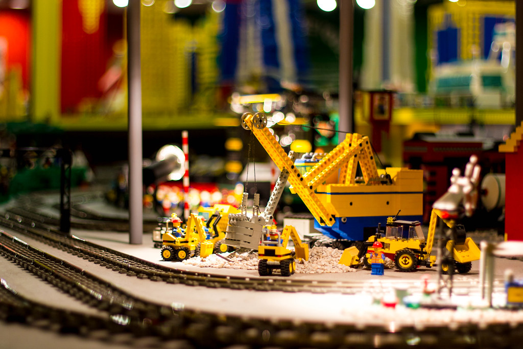Lego Construction - Brick City - Niagara Falls 2013