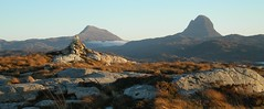 Canisp and Suilven from Baddidarach