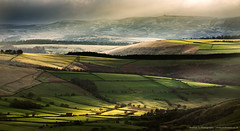 Patterns of Light on Edale Valley (awhyu) Tags: park photography district derbyshire peak andrew national valley yu edale