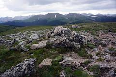 Apline Ridge Trail, Rocky Mt National Park tour (Boston Runner) Tags: storm rain tour alpine summit tundra rockymountainnationalpark fallriverpass aplineridgetrail