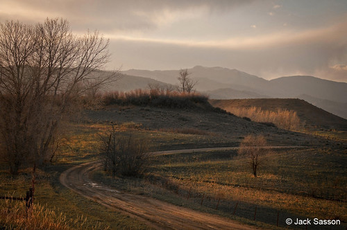Photo - Bend in the Road - Open Space north of Boulder