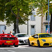 Ferrari F355, Audi R8 & Lamborghini Murciélago LP-640