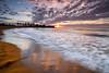 Septiembre (Renato J. López Baldó) Tags: sea beach sunrise landscapes mar seascapes wave playa palmeras arena murcia amanecer olas mazarrón águilas percheles regióndemurcia cañadadegallego renatolópezbaldó perchelesbeach caladepercheles arenagold