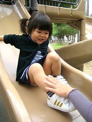 瑤瑤和溜滑梯 (吳❤蘋) Tags: pingtung 200902