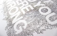 detail. (einedosekaffee) Tags: plants illustration ink botanical drawing doodle type illustrazione machevenefregaavoi