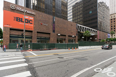 Macys Plaza (HunterKerhart.com) Tags: architecture losangeles downtown downtownla dtla 2014 downtownlosangeles discoverla kerhart hunterkerhart