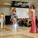 Models exhibit the work of designer Gillian Paige.
