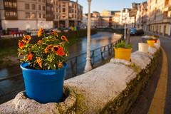 Pueblo marinero (Miguel Angel O.F) Tags: espaa flores rio canon eos mar flor pueblo asturias canoneos marinero 2015 1000d ef18200