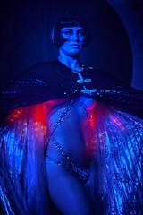 the stars that shine and the stars that shrink (gh0stdot) Tags: portrait london club canon stage led nightlife cabaret bethnalgreen davidlynch 60d bestviewedonamac doublerclub