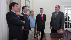 Militantes de Tondela em Visita à Sede Nacional
