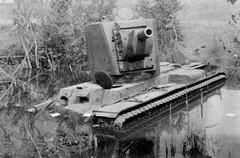 """KV with early type of turret (""""bolszoj"""") (Bro Pancerna) Tags: tank soviet heavy kv2"""