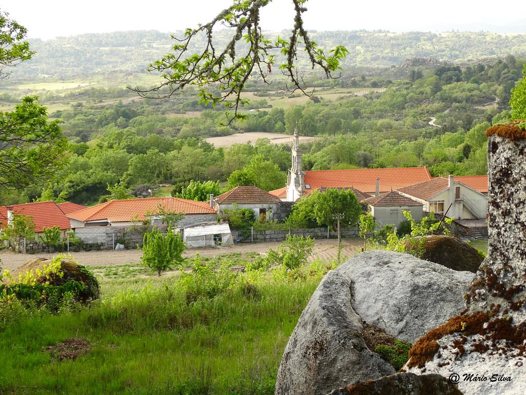 Águas Frias (chaves) ... uma vista da Aldeia (parcial) ...