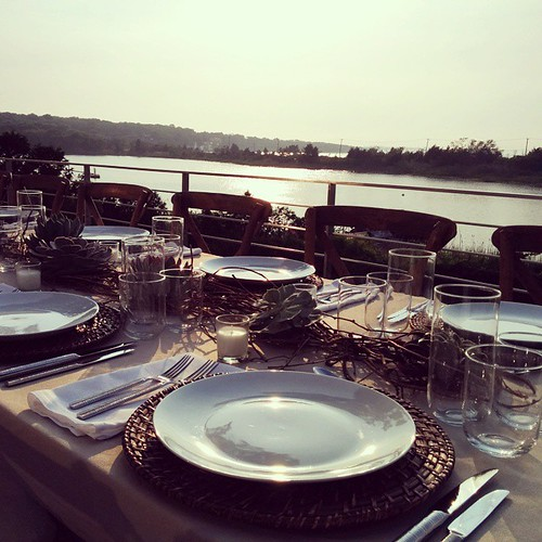 #Hamptons #sunset #DinnerWithFriends