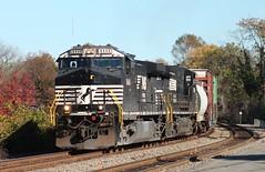 A Polished Crapper (tolga_boy) Tags: ns norfolk southern cefx sd90mac train trains charlottesville virginia railfan railroad 290 7333 barney dinosaur 156 35q washington district