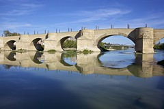 Puente de Piedra, Zaragoza (jameslindemann) Tags: pontedepedra zaragoza reinodearagão espanha