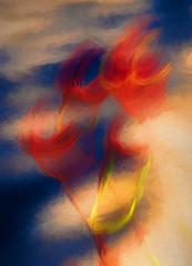 Portrait (zhupanov) Tags: topaz photopainting painting art icm intentionalcameramovement movement motionblur blur blurry unsharp artisticblur intendedblur intentionalblur cameramovement flower floral artistic plant