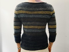 Another one down. (jenschuetz) Tags: sweater knitting knit knitwear hobby crafty diy handmade fiber yarn textile stitch ravelry pattern pullover texture garment