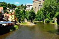 esk Krumlov (Czech) (jens_helmecke) Tags: moldau flus river eskkrumlov czech tschechien nikon jens helmecke