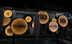 Tick Tock Art Piece in Guinness Storehouse in Dublin, Ireland (albatz) Tags: ticktock clock art guinnessstorehouse dublin ireland