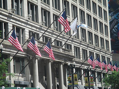 State Street 16 - Marshall Fields, now Macy's (worldtravelimages.net) Tags: chicago statestreet theatredistrict 2016 worldtravelimages