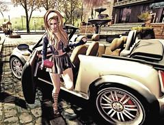 Town Girl (rebeccaolivieri) Tags: secondlife secondlifephotos sexybitch sltrendystyle somewherefarfromhere whereidratherbe justbecause justme justonemoreday towngirl dayintown blondie sexy