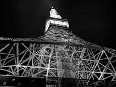 The Tower (Fehlfokus) Tags: tokyo tokyotower japan