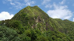 Rainmaker Mountain in National Park of American Samoa