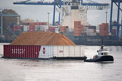 Seaspan Tempest Tugboat (drmack2) Tags: felixstowe barge annacis container ship towboat delta bc