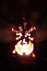 Zooming Jack-o-Lantern 10252016 (Orange Barn) Tags: jackolantern light candle halloweendecorations decorations halloween 116picturesin2016 zoomeffect
