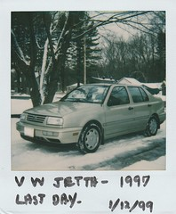 LAST DAY OF THE JETTA (richie 59) Tags: ulstercountyny ulstercounty newyorkstate newyork unitedstates winter townofesopusny townofesopus stremyny stremy america outside volkswagen vw oldphotograph olddays oldpicture oldphoto instantflim film 1999 photoscan 1990s filmcamera filmphotography jan121999 jan1999 volkswagenjetta vwjetta 1997volkswagenjetta 1997volkswagen 1997jetta jetta 1990scar germancar europeancar germansedan europeansedan sedan 4door fourdoor 4doorsedan fourdoorsedan automobiles autos automobile auto car motorvehicle vehicle hudsonvalley midhudsonvalley midhudson nystate nys ny usa us frontend grill headlights tancar snow driveway trees sideview cold gl vdub