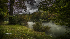 Brume sur l'Ain (Tra Te E Me (TTEM)) Tags: lumixfz1000 photoshop cameraraw ain rivière eau brume paysage champagnole jura franchecomté nature mist river landscape water