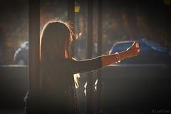 Sunny selfie (nathaliedunaigre) Tags: portrait portraiture selfie adolescente jeune young sunny ensoleillé contraste contrast ville town urban urbain people personne jeunesse street rue teen contrejour backlight