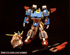 Z Transform 1 (Sam.C (S2 Toys Studios)) Tags: zetagundam gundam mobilesuit lego moc s2 80s scifi mecha anime japan spacecraft