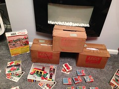 Kelloggs promotional winning vintage Lego System boxed set 1970 / 1971 (GoodPlay2) Tags: promotional promo system lego early original kelloggs kellogg cornflakes corn flakes collection